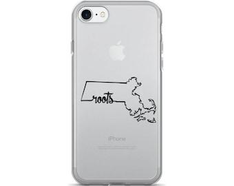 Massachusetts Roots - iPhone Case (iPhone 7/7 Plus, iPhone 8/8 Plus, iPhone X)