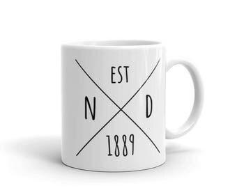 North Dakota Statehood - Coffee Mug