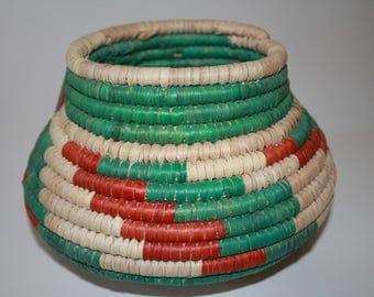 Southwest Handwoven Colorful Basket Home Decor