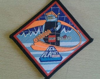 Lego Ice Planet 2002 Club Patch Badge