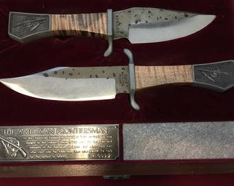Cutco American Frontiersman Bowie Knife set