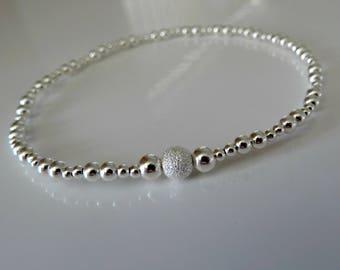 dazzle me dainty stacking bracelet sterling silver