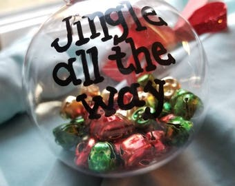 Christmas ornament, jingle bells