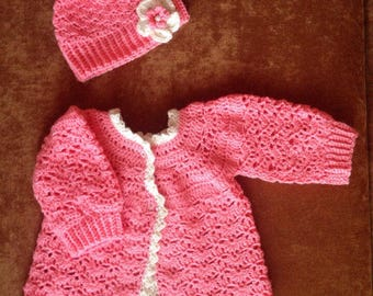 Coral baby set