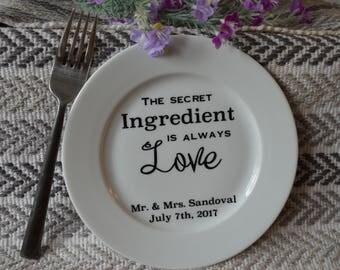 Wedding Cake Plate