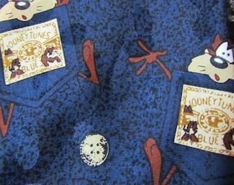 Looney tunes tie, looney tunes mania, warner bros, vintage, Novelty tie, necktie, neck tie, retro, hipster, kid-friendly,