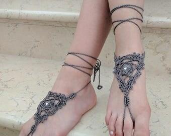 Barefoot sandals Handmade barefoot sandals