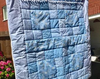Bespoke Handmade Patchwork Baby Quilt