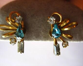 Vintage Elegance Screwback Earrings