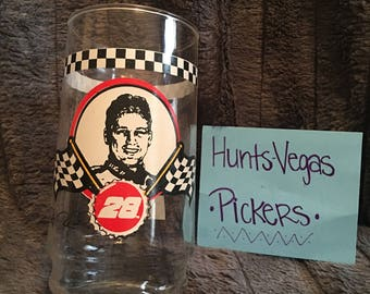 Nascar- Rickey Rudd Coca- Cola Glass