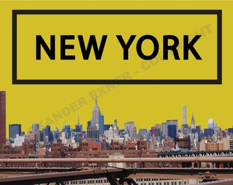 New York - Yellow Sky