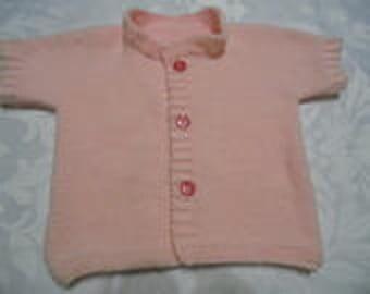 Little girl's short sleeves jacket