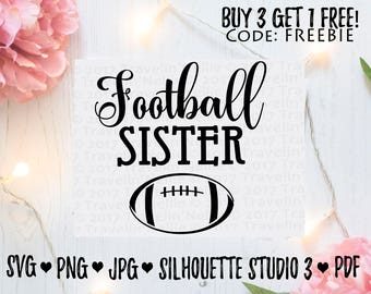Football Sister SVG T-Shirt Image Design for Vinyl Cutters Sublimation Print DIY Shirt Design American Football Season Brother