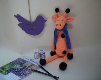 Crochet giraffe / Вязаный жираф