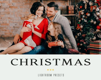 50 Christmas Lightroom presets