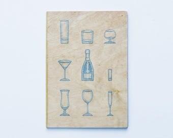 Ema Greetings Card - Champagne