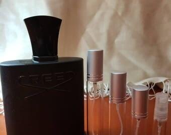 CREED- Green Irish Tweed perfume sample travel size spray