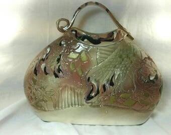 Ceramic Artware Handbag by Gail Markiewicz