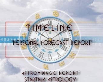 """TimeLine """"Personal Forecast Report"""""""