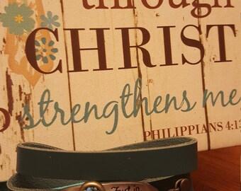 Trust in the Lord bracelet