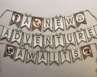 Adventure Banner Etsy