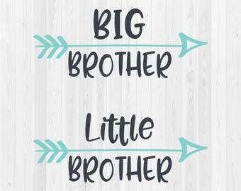 Big Brother - Little Brother - SVG Cut File