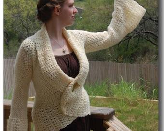 Genevieve wraparound sweater
