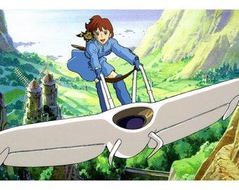 Poster - Nausicaa Valley of the Wind - Hayao Miyazaki - 1984 - fine art gallery