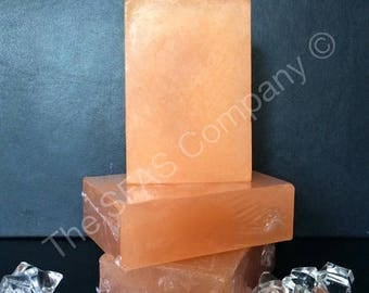 Orange fragranced SLS free soap bar