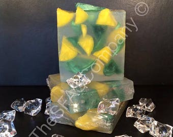 Lemon & Lime fragranced SLS free soap bar