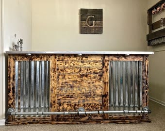 Rustic Industrial Bar