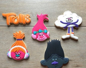 Trolls cookie set