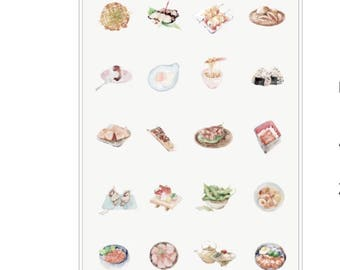 Cardlover Food Stickers, Cute Scrapbooking, Decoration, Journal, Diary, Planner Stickers