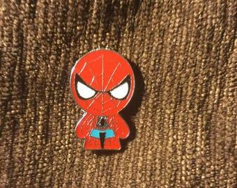 Spiderman hat pin