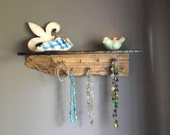 Drift Wood Jewelry Display Shelf