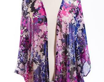cover up , kimono style , cardigan type