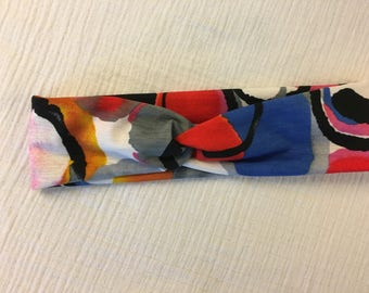 Circle/colorful twist turban headband