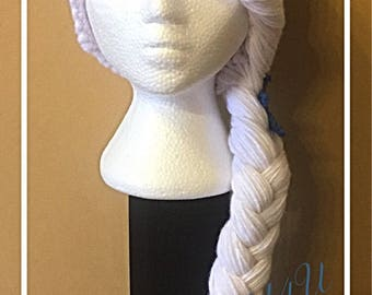 Frozen crochet hat, Elza hat, Crochet hat,