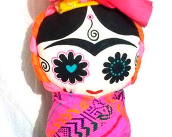 Various colors doll Catrina type pad