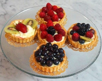 Fresh Fruit Tarts (Fruit Tartlets) - LOCAL Pittsburgh, PA PICKUP Only!