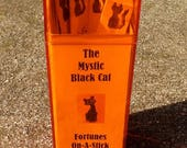 Mystic Black Cat Fortunes-on-a-Stick