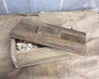 Reclaimed lumber box