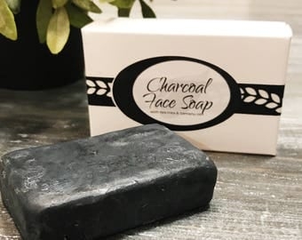 Charcoal Face Soap