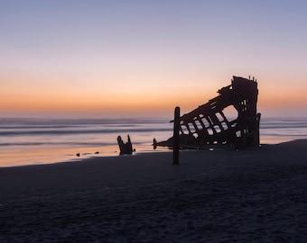 Shipwreck- original fine art photography print - travel photography - wall decor - nature and landscape photography