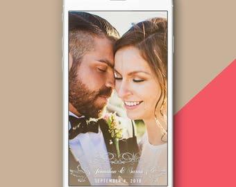 Elegant Wedding Snapchat Filter