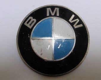 Oldtimer Logo * BMW * 1954 / Old Car vintage / altes BMW Emblem metal Metall / classic car / Auto Restaurierung