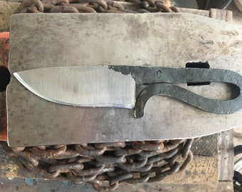 Hand Forged Blacksmiths Knife