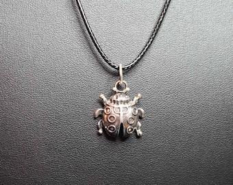 Ladybird Charm Necklace