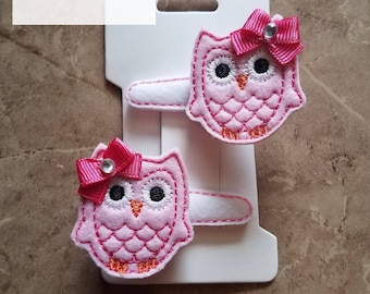 Owl Clippies Set