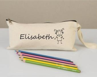 Pencil cases, pencil case for girls, pencil cases boxes, pencil cases personalized,  pencil cases fabric, cotton pencil case,back to school
